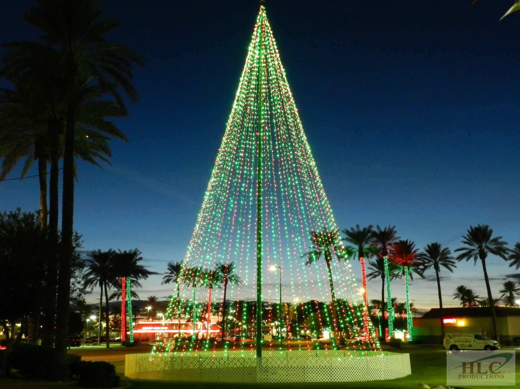 80ft Tree of Lights