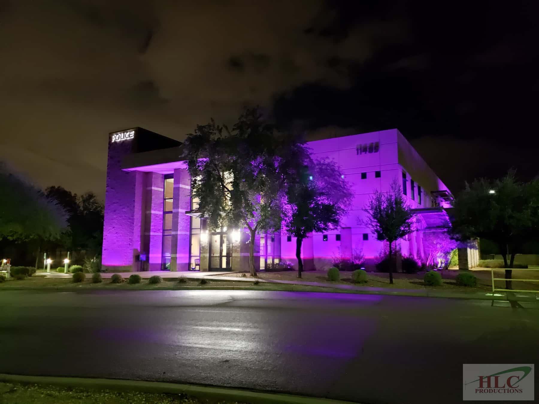 Police Station - Purple