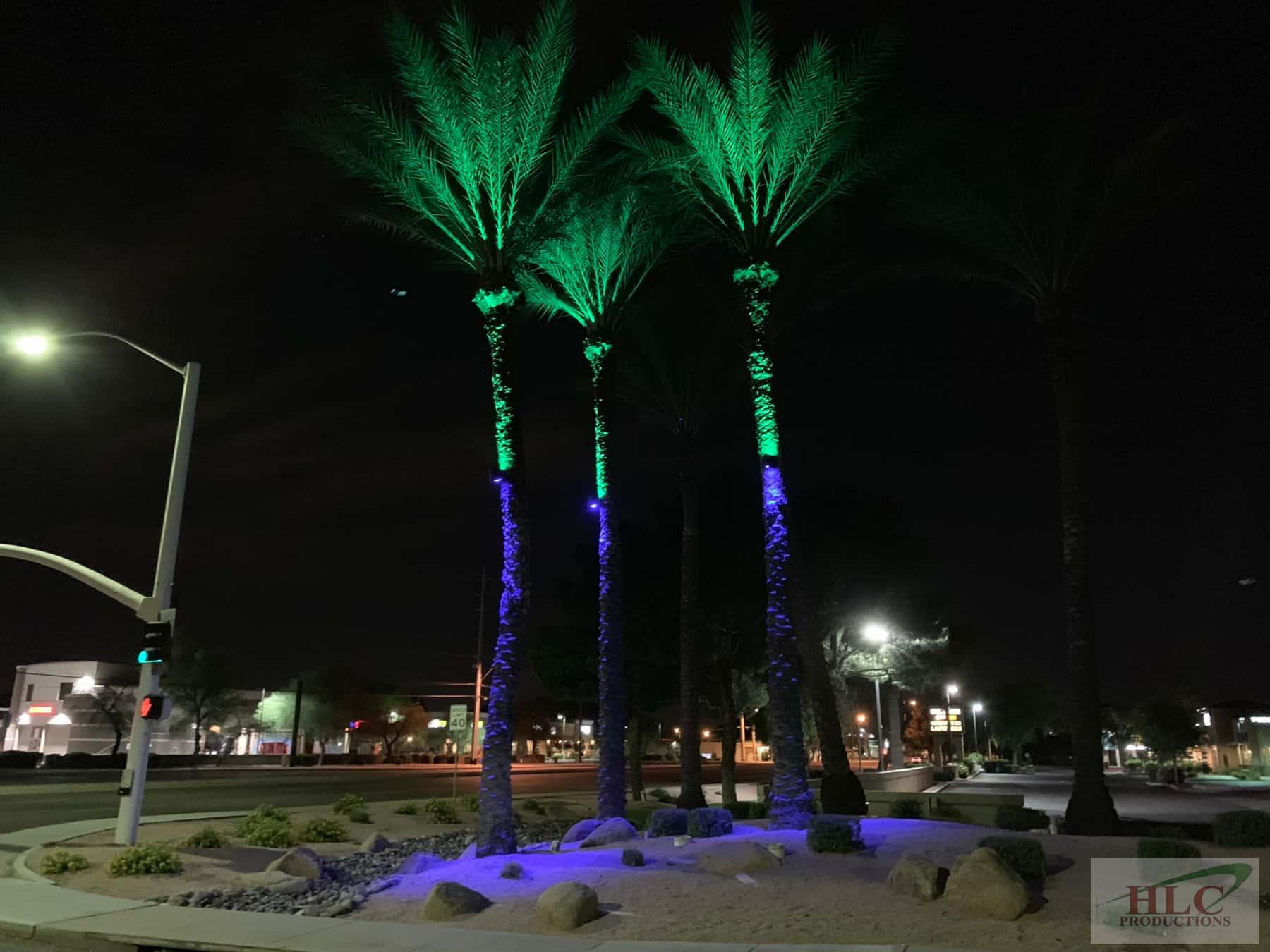 RGB LED up-down Light