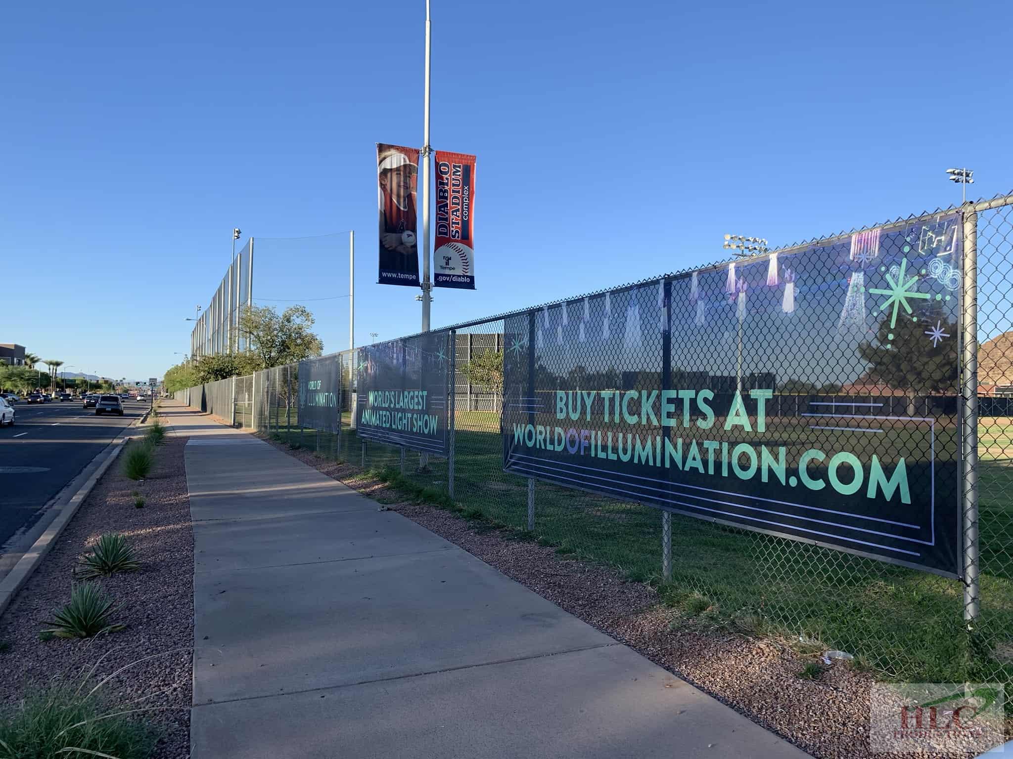 Illumination - Fence Banner