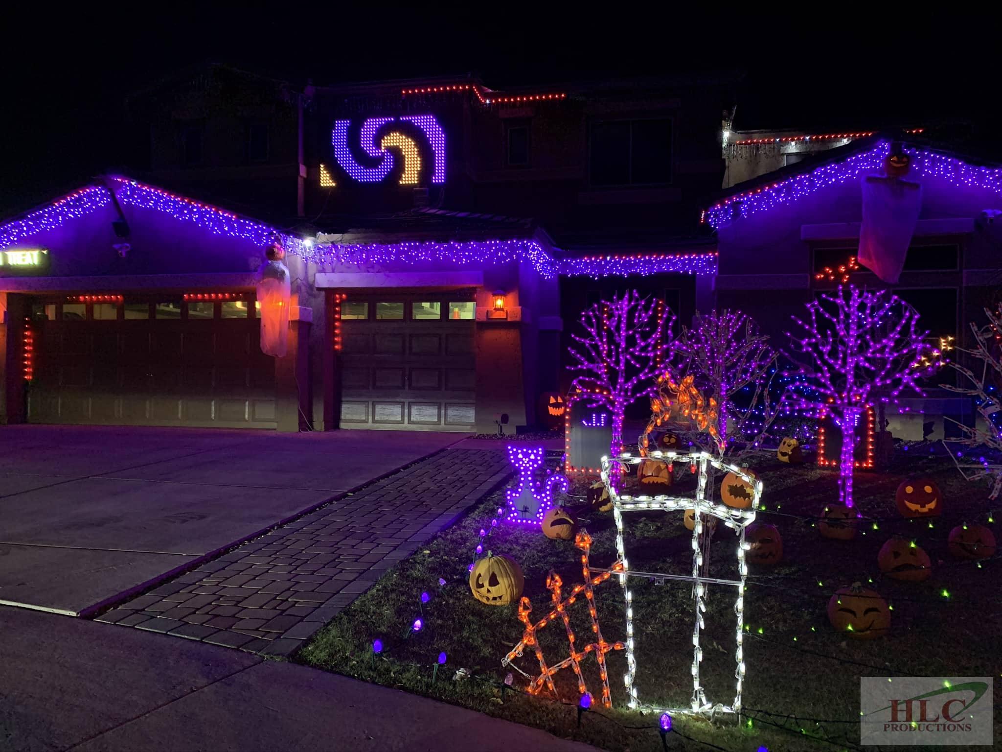 Residential Light Show