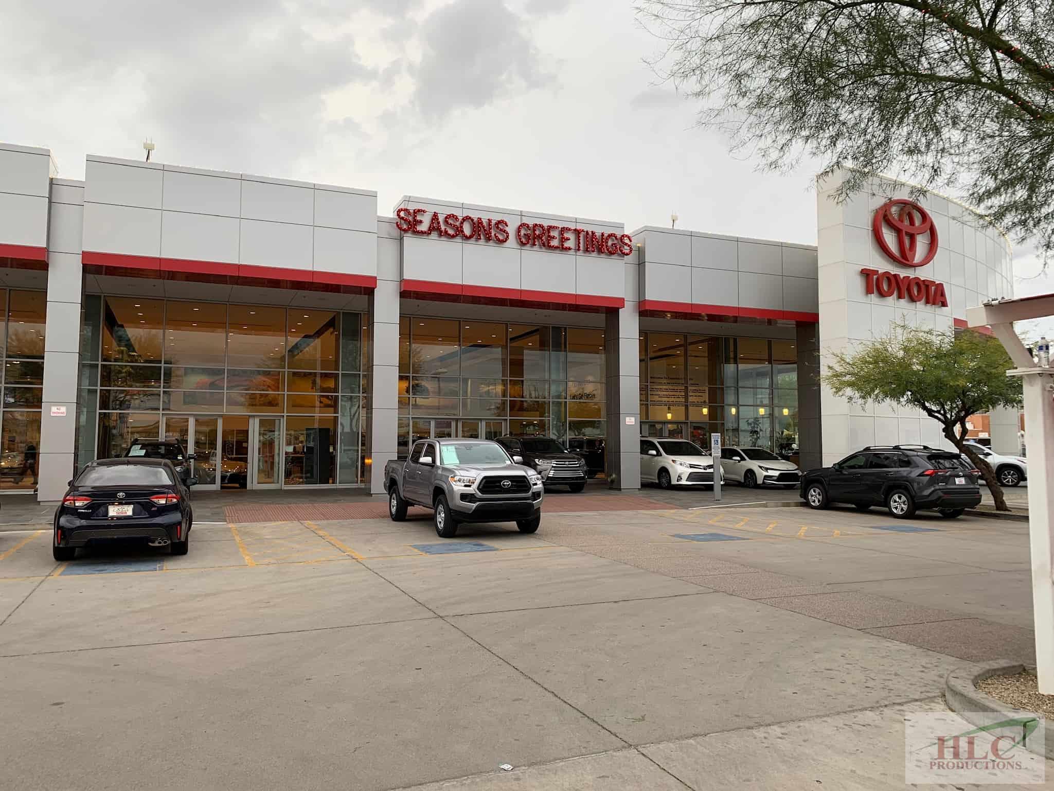 Toyota Dealership - Sign-1