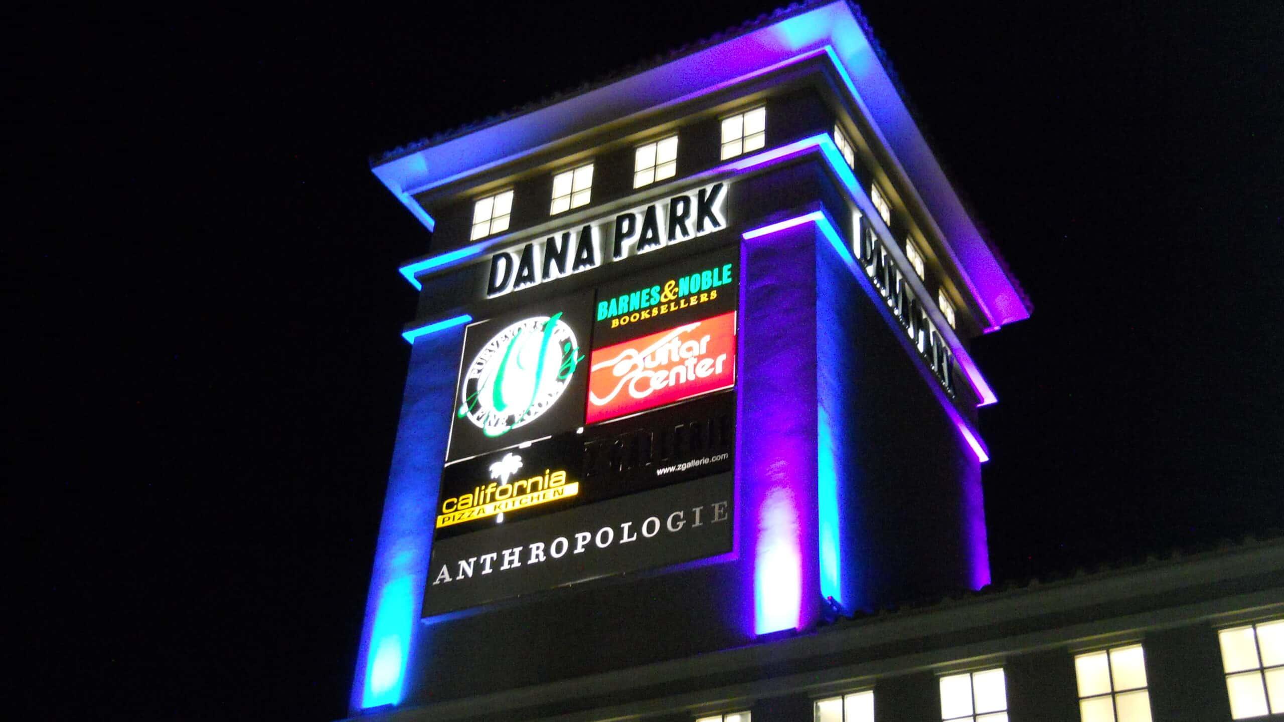 Dana Park RGB Floods